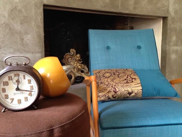Fauteuil vintage design nordique : chaleureux et futuriste