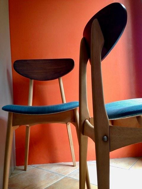 Chaises signées Stella – 1950