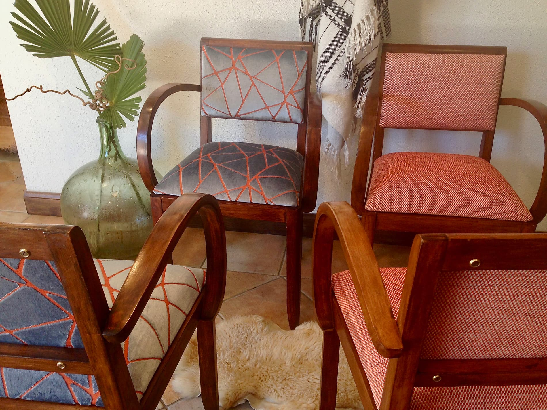 Le fauteuil bridge, le siège des années Art Déco
