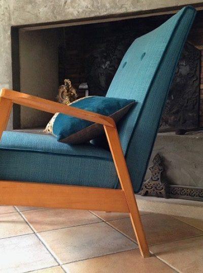 Fauteuil vintage design nordique - élégance et confort
